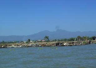 The mountains of Bataan Peninsula