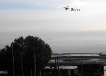 Making history by using a drone
