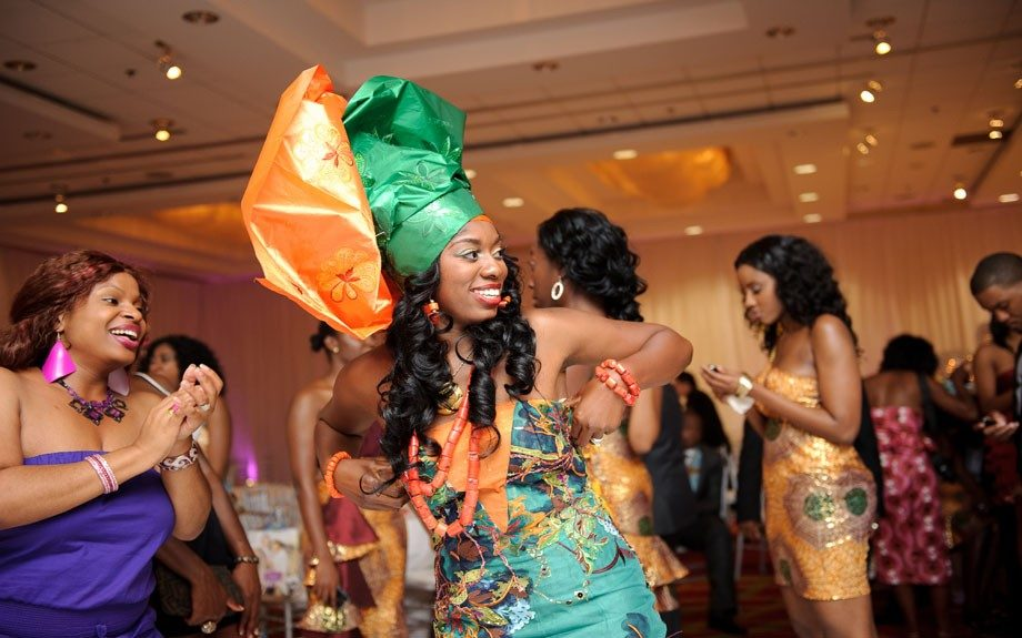 BLACK WEDDING STYLE: Nigerian Couple Marries Modernity And