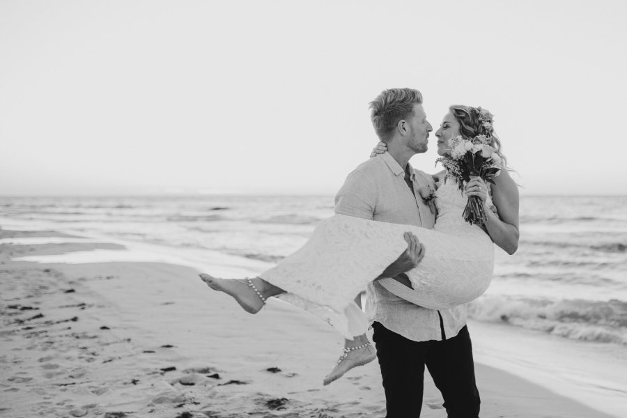 Peppermint Grove Beach Wedding Photography |  Margaret River Wedding Photographer | Ebony Blush Photography | Perth Wedding Photographer | Wedding Photography Prices | Jamie + Ali