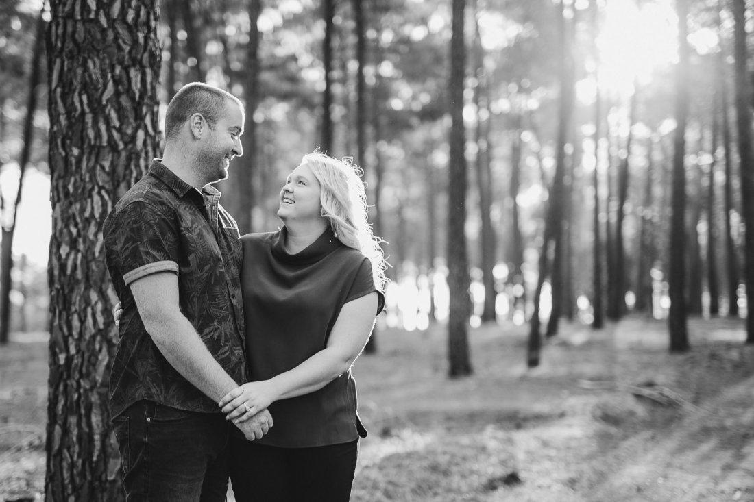 Perth Wedding Photographer | Pines Forrest Engagment | Ebony Blush Photography | Corry + Reece | Pre Wedding1