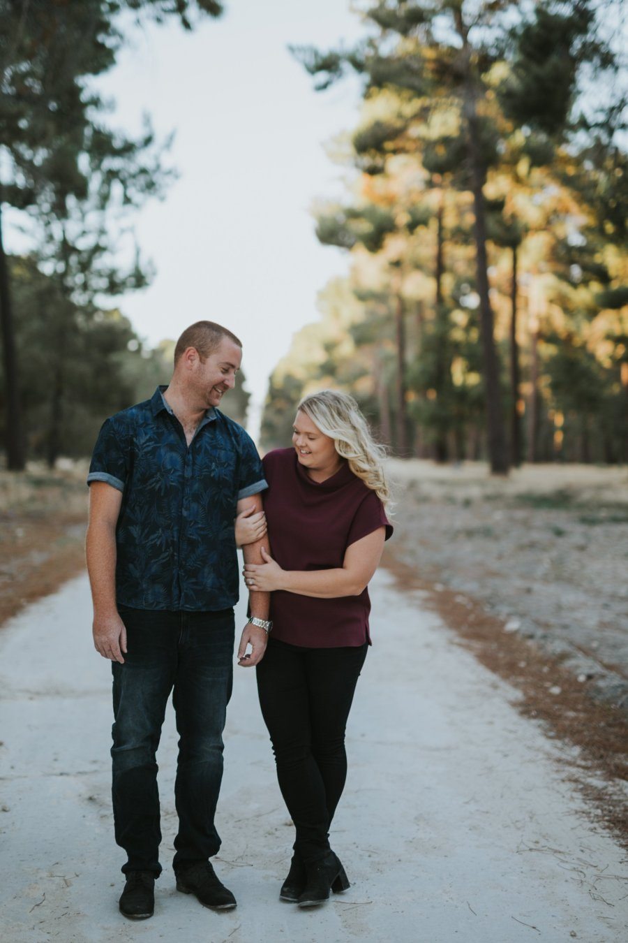 Perth Wedding Photographer | Pines Forrest Engagment | Ebony Blush Photography | Corry + Reece | Pre Wedding108