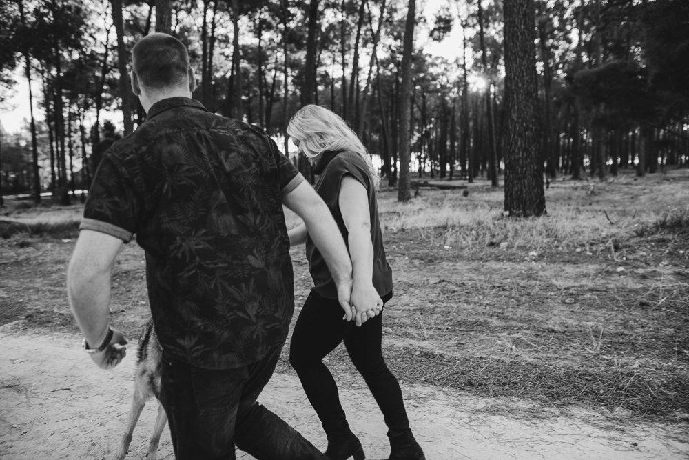 Perth Wedding Photographer | Pines Forrest Engagment | Ebony Blush Photography | Corry + Reece | Pre Wedding171