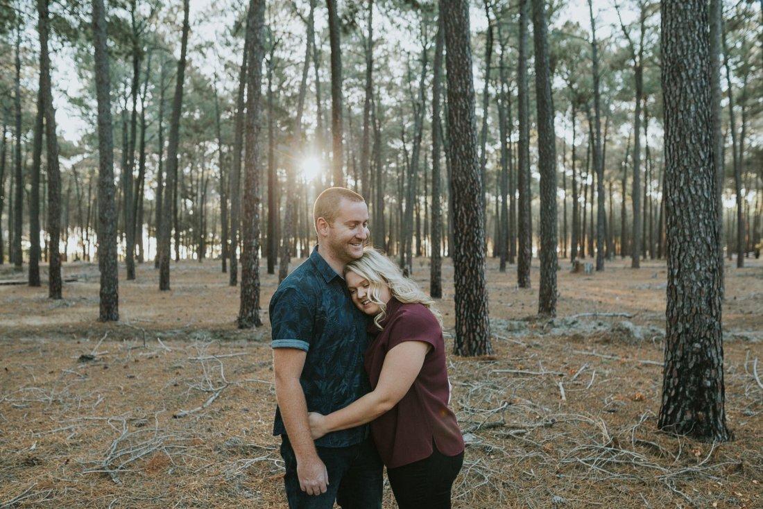 Perth Wedding Photographer | Pines Forrest Engagment | Ebony Blush Photography | Corry + Reece | Pre Wedding210