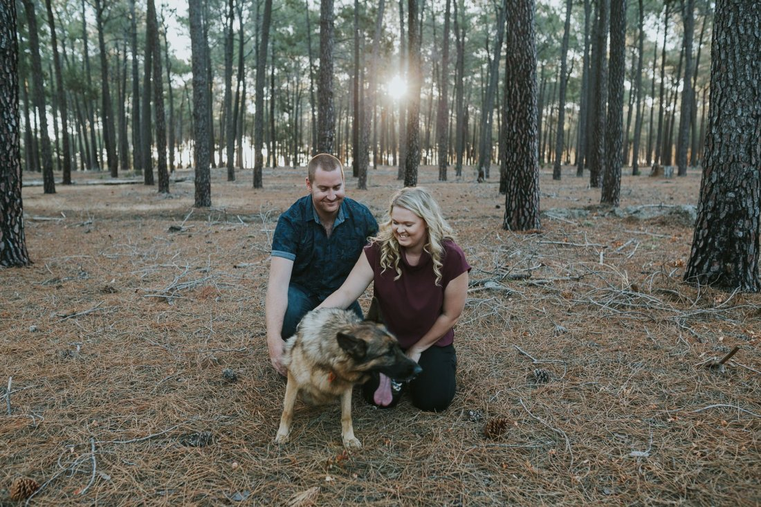 Perth Wedding Photographer | Pines Forrest Engagment | Ebony Blush Photography | Corry + Reece | Pre Wedding232