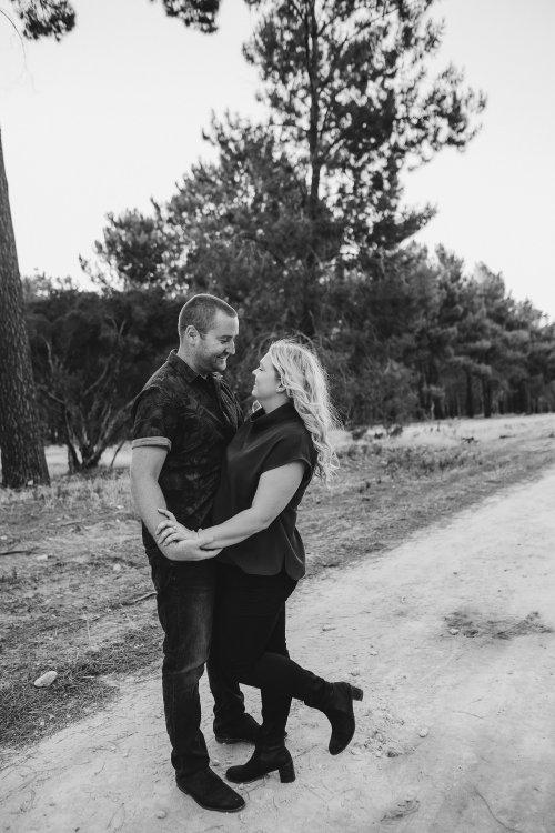 Perth Wedding Photographer | Pines Forrest Engagment | Ebony Blush Photography | Corry + Reece | Pre Wedding271