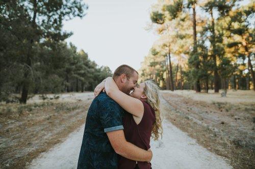 Perth Wedding Photographer | Pines Forrest Engagment | Ebony Blush Photography | Corry + Reece | Pre Wedding284