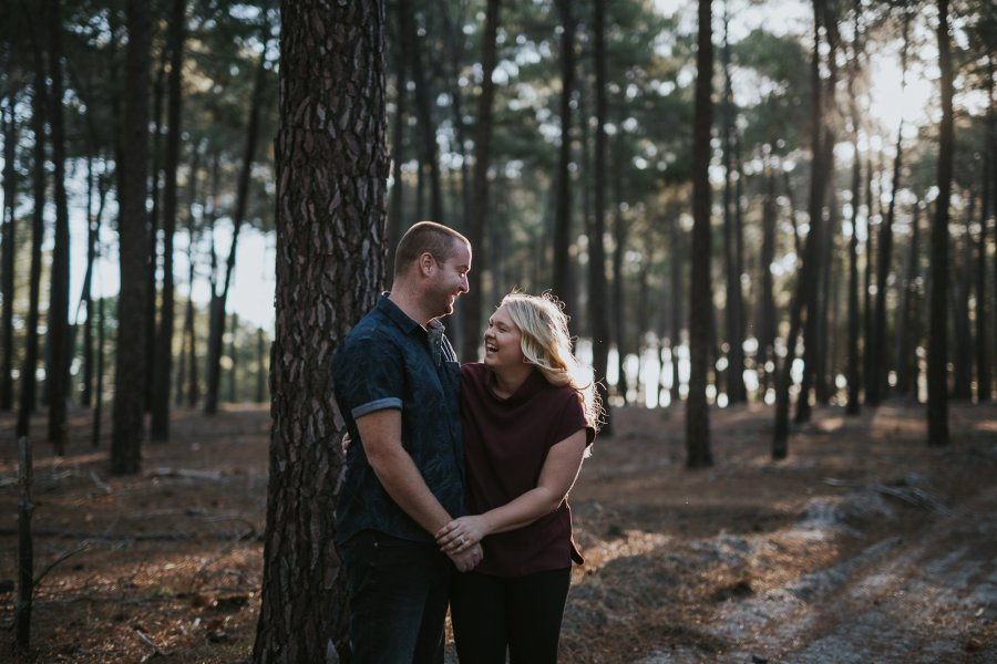 Perth Wedding Photographer | Pines Forrest Engagment | Ebony Blush Photography | Corry + Reece | Pre Wedding4