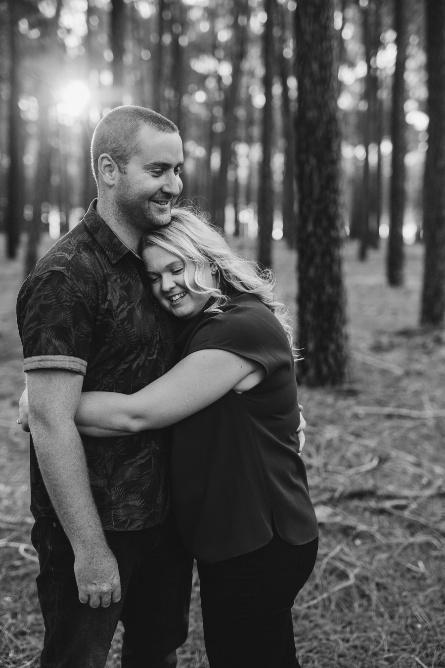 Perth Wedding Photographer | Pines Forrest Engagment | Ebony Blush Photography | Corry + Reece | Pre Wedding63