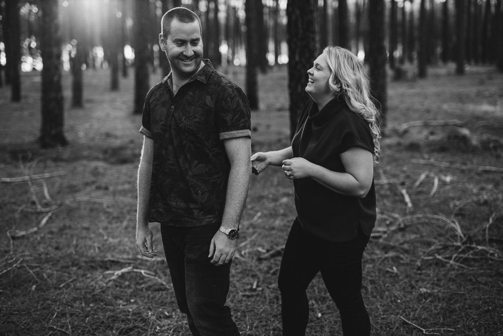 Perth Wedding Photographer | Pines Forrest Engagment | Ebony Blush Photography | Corry + Reece | Pre Wedding71