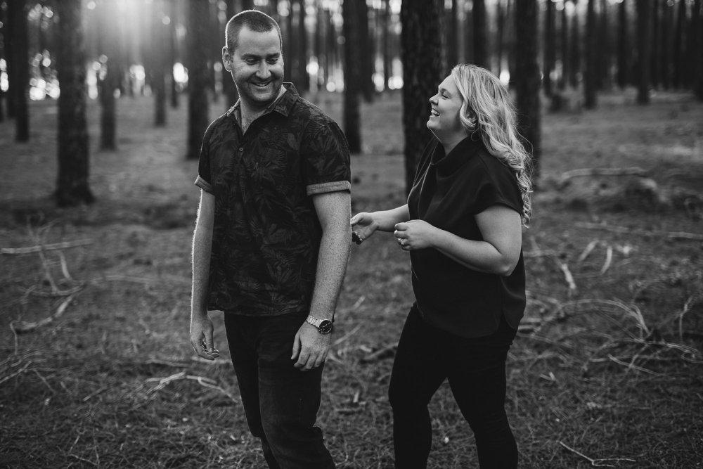 Perth Wedding Photographer | Pines Forrest Engagment | Ebony Blush Photography | Corry + Reece | Pre Wedding71