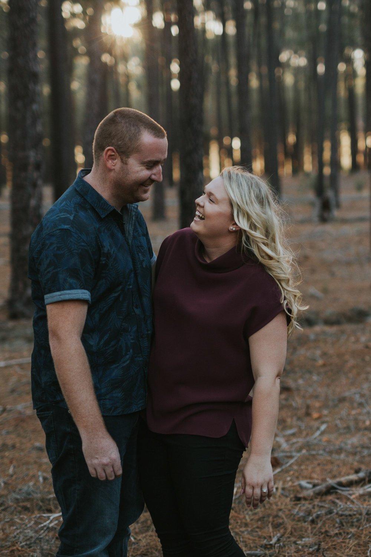 Perth Wedding Photographer | Pines Forrest Engagment | Ebony Blush Photography | Corry + Reece | Pre Wedding86