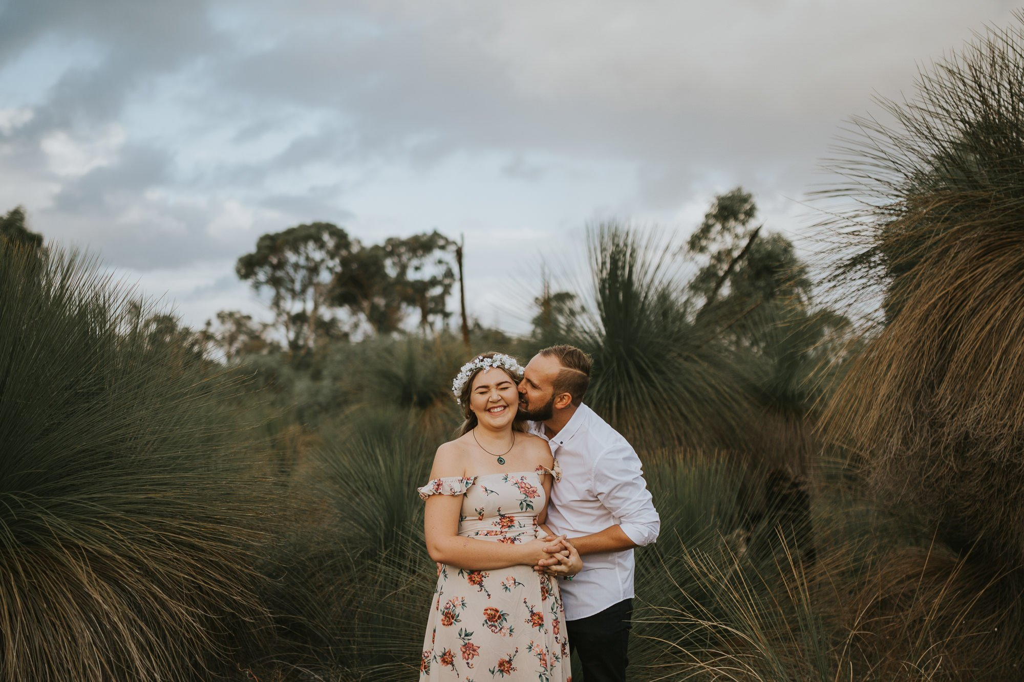 Rockingham Engagement Photography | Bek + Owen | Ebony Blush Photography