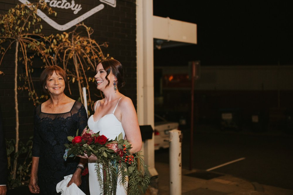 Old Pickle Factory Wedding | Perth Wedding Photographer | Night Wedding Perth | Ebony Blush Photography | Zoe Theiadore | C+T26