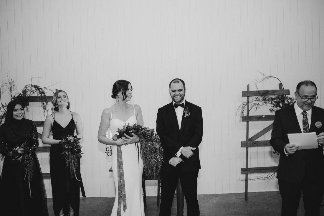 Old Pickle Factory Wedding | Perth Wedding Photographer | Night Wedding Perth | Ebony Blush Photography | Zoe Theiadore | C+T38