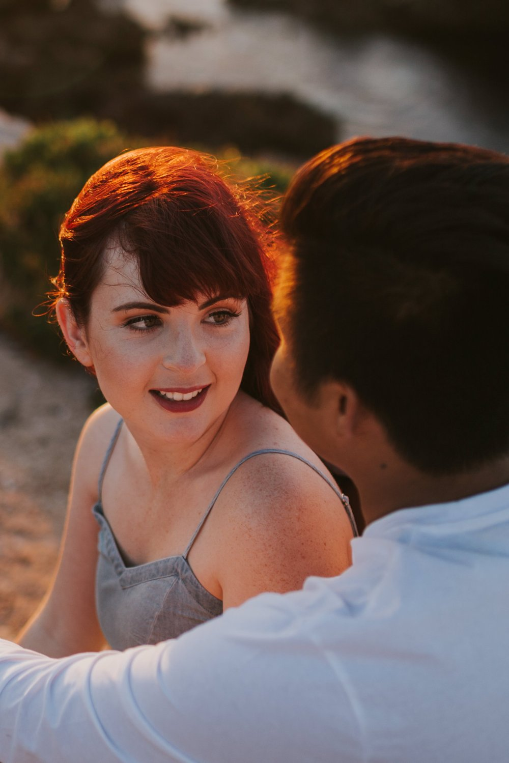 Ebony Blush Photography | Perth Wedding Photographer | Paton + Klyde | Engagement66Beach Engagement Photos, Perth