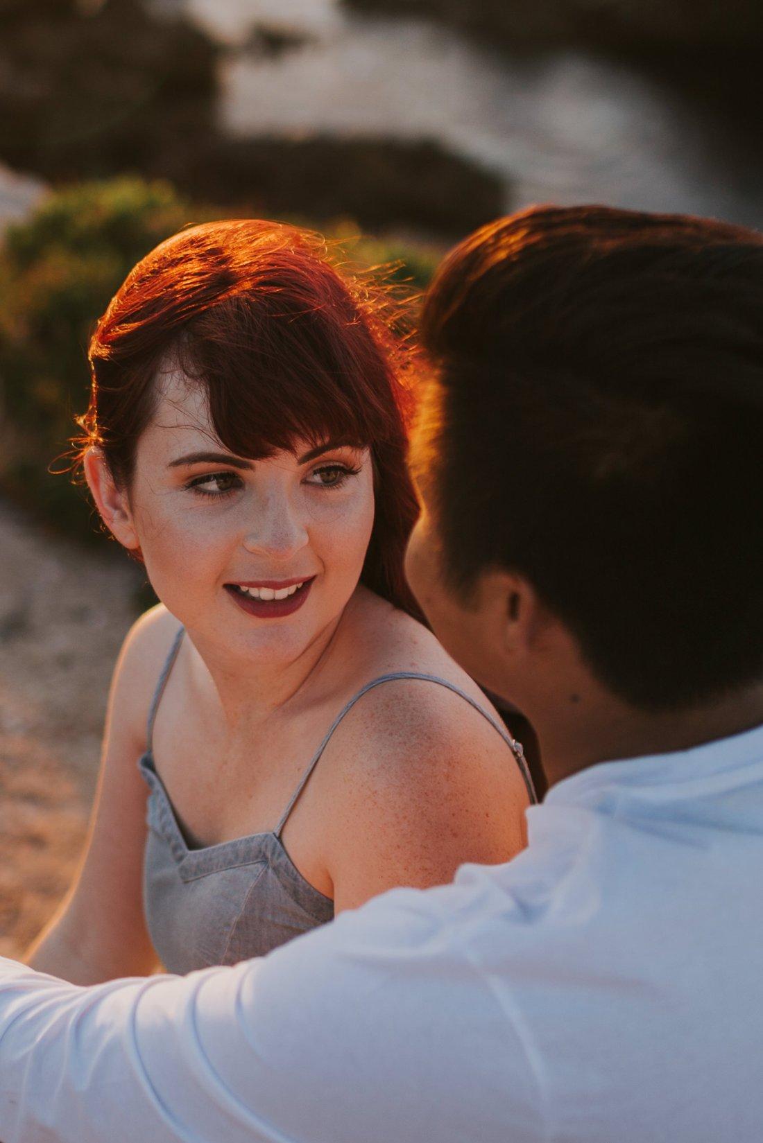 Ebony Blush Photography | Perth Wedding Photographer | Paton + Klyde | Engagement66Beach Engagement Photos, Perth