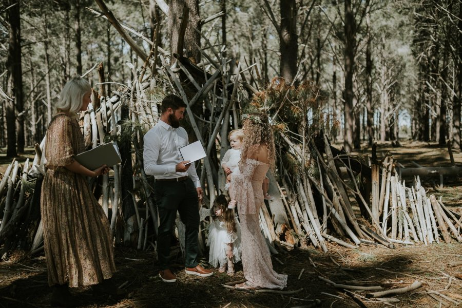 Sinéad + Shane | Pines Forrest Elopement | Ebony Blush Photography | Perth Wedding Photographer10