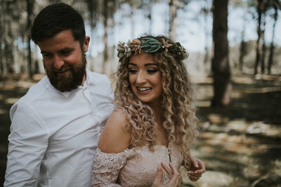 Sinéad + Shane | Pines Forrest Elopement | Ebony Blush Photography | Perth Wedding Photographer31