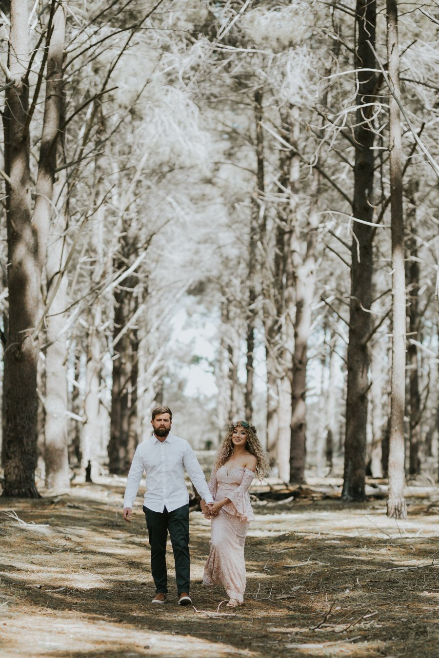 Sinéad + Shane | Pines Forrest Elopement | Ebony Blush Photography | Perth Wedding Photographer61