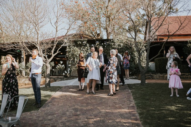 Chapel Farm Wedding Potos | Perth Wedding Photographer | Ebony Blush Photography | Brett + Blythe | 38