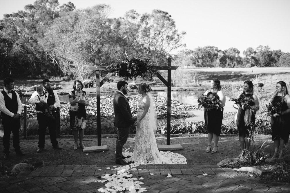 Chapel Farm Wedding Potos   Perth Wedding Photographer   Ebony Blush Photography   Brett + Blythe   55