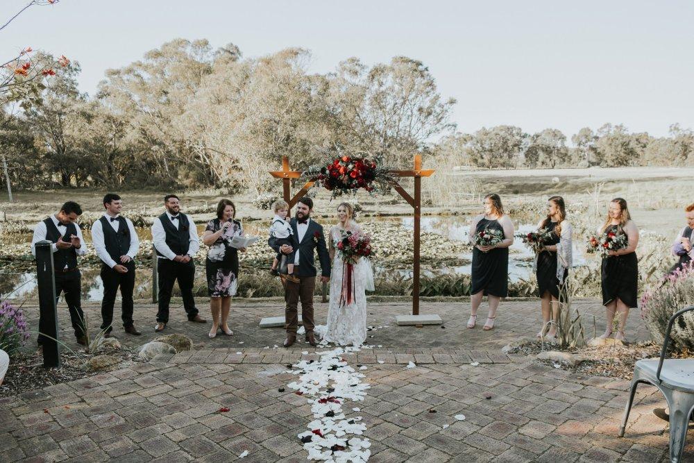 Chapel Farm Wedding Potos   Perth Wedding Photographer   Ebony Blush Photography   Brett + Blythe   63
