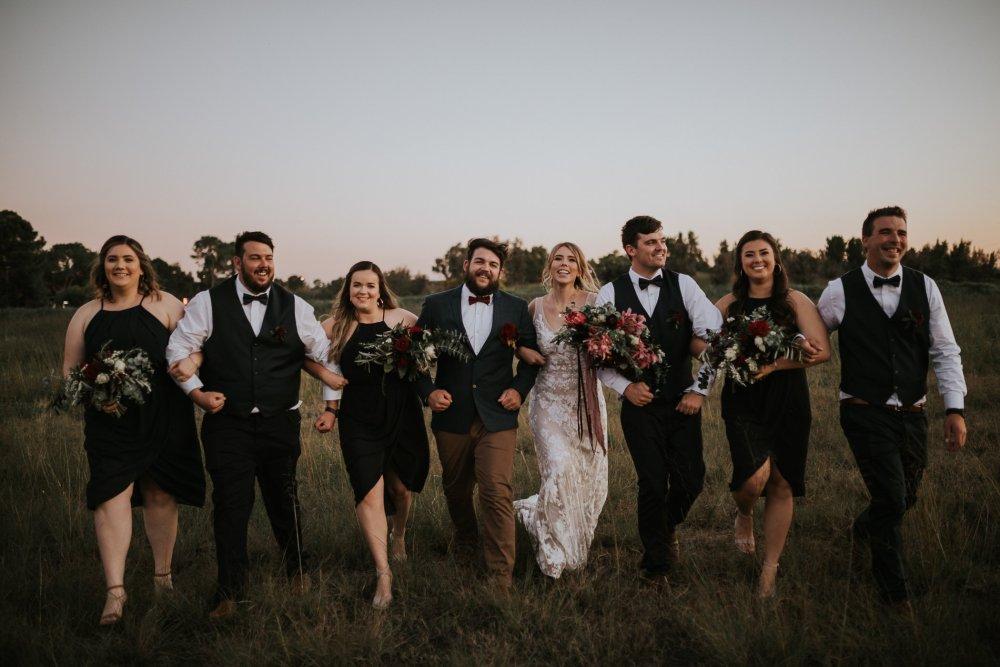 Chapel Farm Wedding Potos   Perth Wedding Photographer   Ebony Blush Photography   Brett + Blythe   94