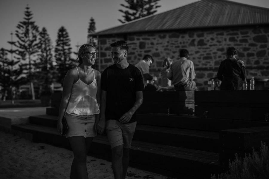 Aaron+Lauren | Fremantle Engagement Photography | Freo Beach | Ebony Blush Photography| Fremantle Pre-Wedding Photography
