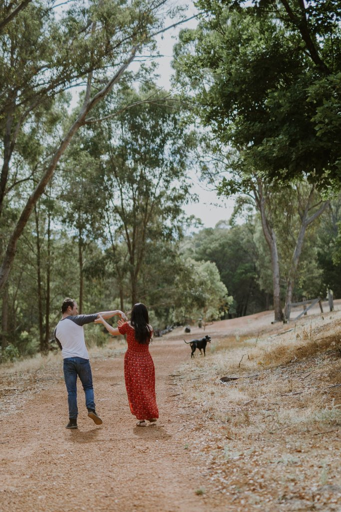 Amy + Jack | Jarrahdale Couples Photography | Jarrahdale Couples Shoot | Ebony Blush Photography | Perth Wedding Photographer
