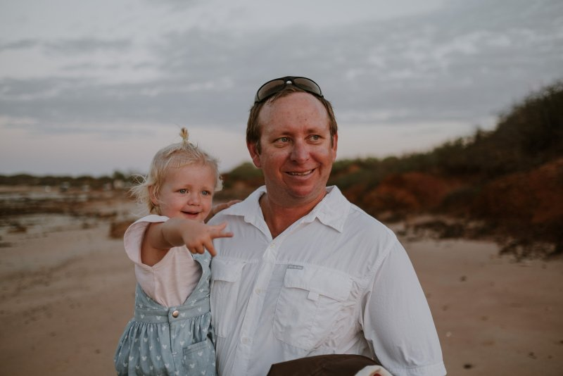 Gantheaume Point Beach Family Photography | Ebony Blush Photography