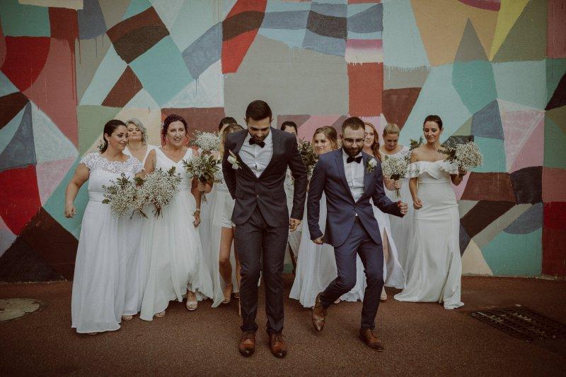 The Stables Bar Wedding Photography  | Same Sex Wedding Photography | Ebony Blush