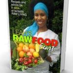 Leahs Raw Food Feast Book - The Naturally You Coach - Ebony Directory - Black Business Directory