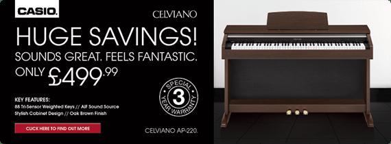 Buy Casio Celviano AP-220 Digital Piano