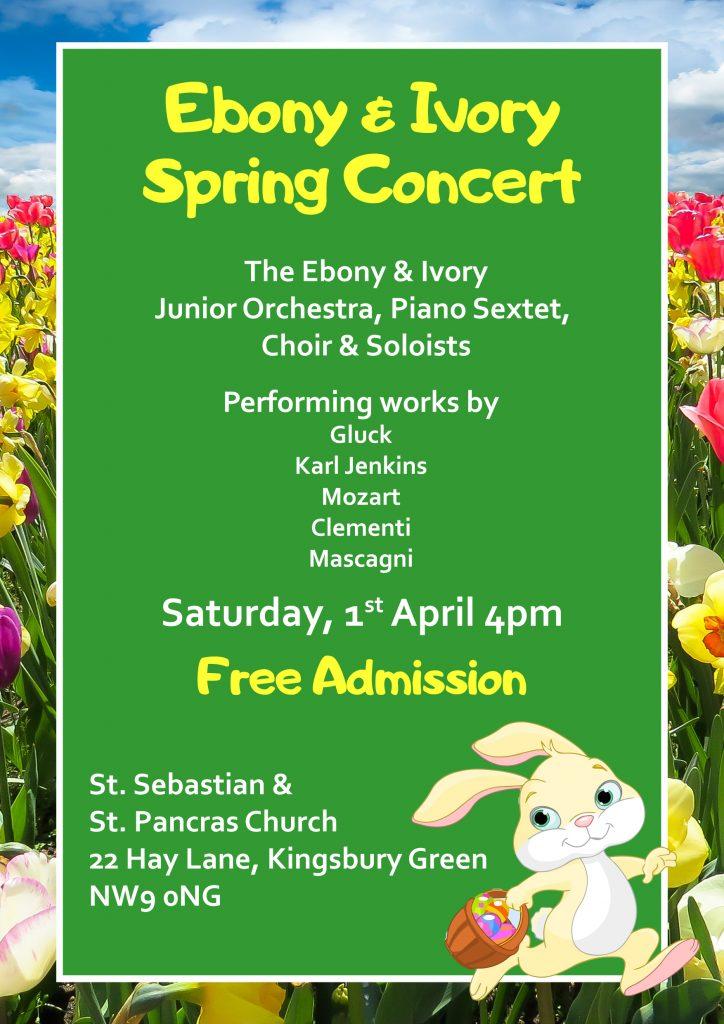 Ebony & Ivory Spring Concert