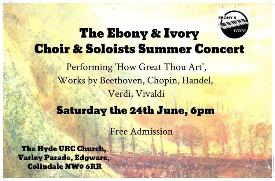 Ebony & Ivory Choir and Soloists Concert