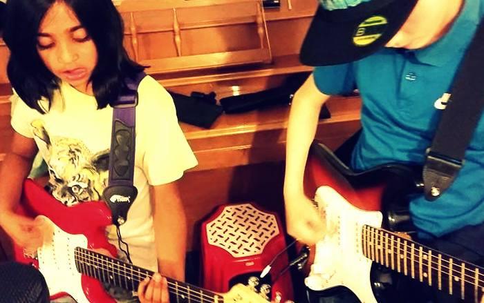 In The Pocket band Workshop October 2016