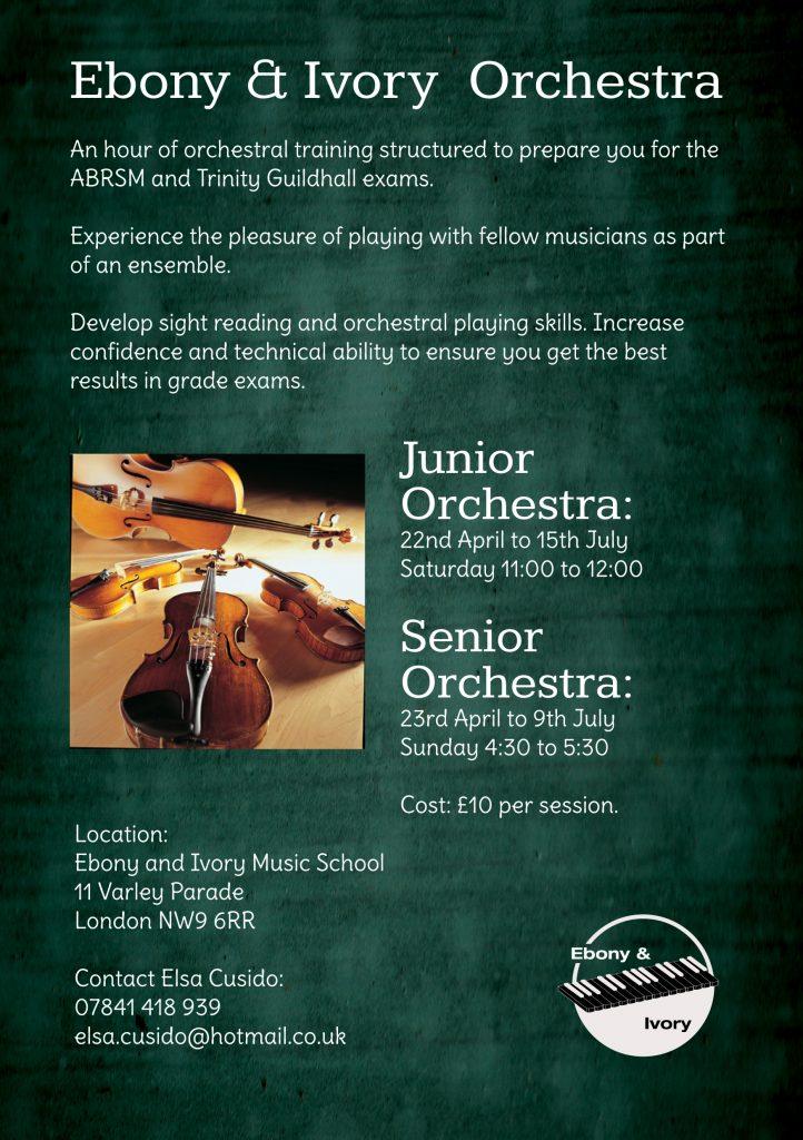 Ebony & Ivory Music School Orchestral Training