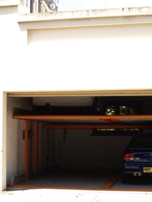 Kirribilli double layer 4 car garage