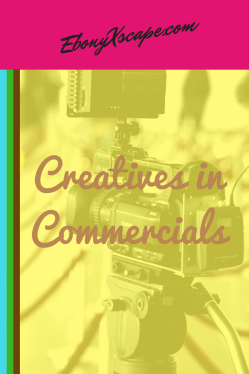 creatives in commercials