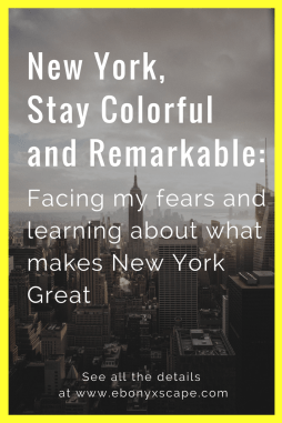 New York, Stay Remarkable