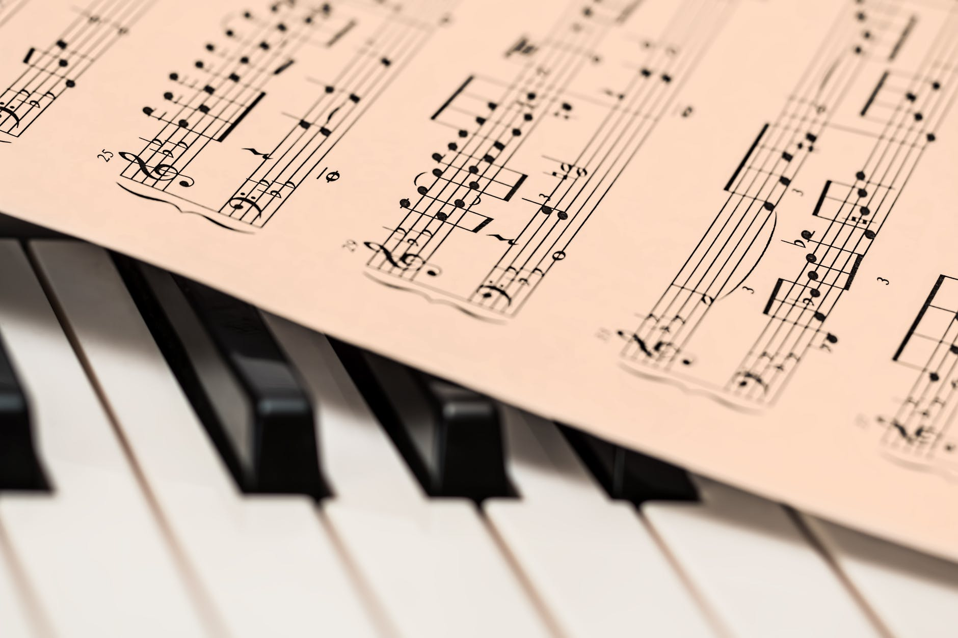 chords sheet on piano tiles