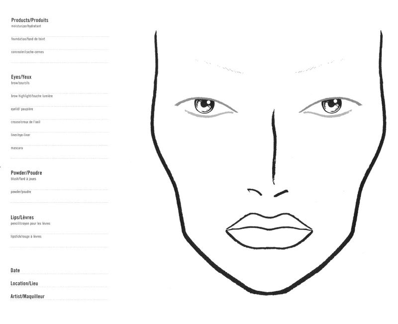 20 Best Mac Face Template Blank