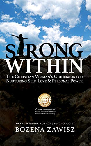 Book Cover: Strong Within: The Christian Woman's Guidebook for Nurturing Self-Love and Personal Power