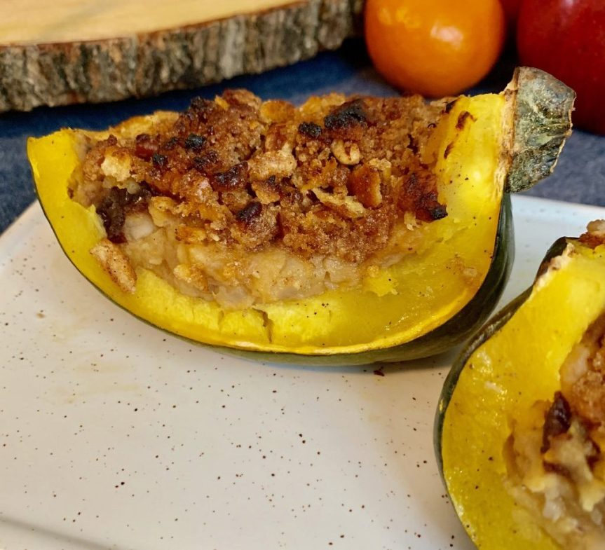 Not my Mother's Stuffed Acorn Squash!