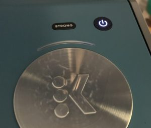 Keurig with STRONG button
