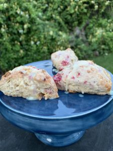 Scones and Honeysuckle