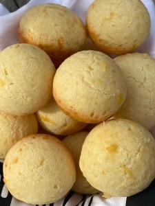 Brazilian Cheese Bread Aka cheesy  cheesy poofs