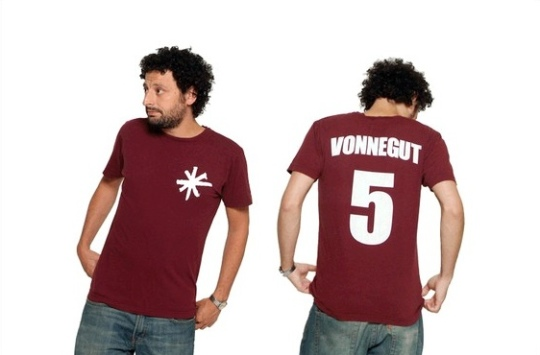 Kurt Vonnegut No. 5 T-shirt from Novel-T