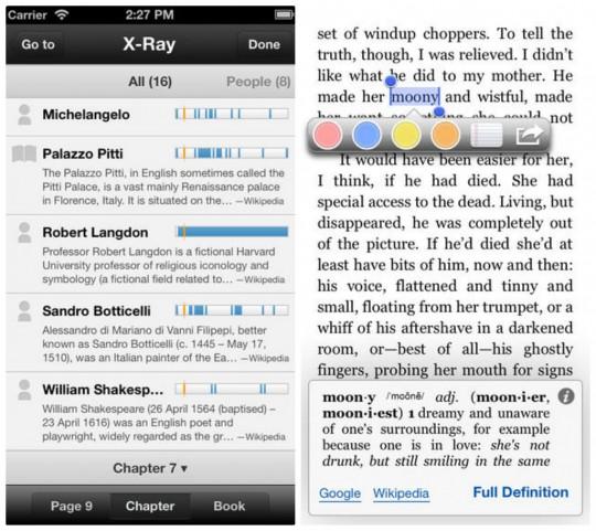 Kindle for iPhone iPad